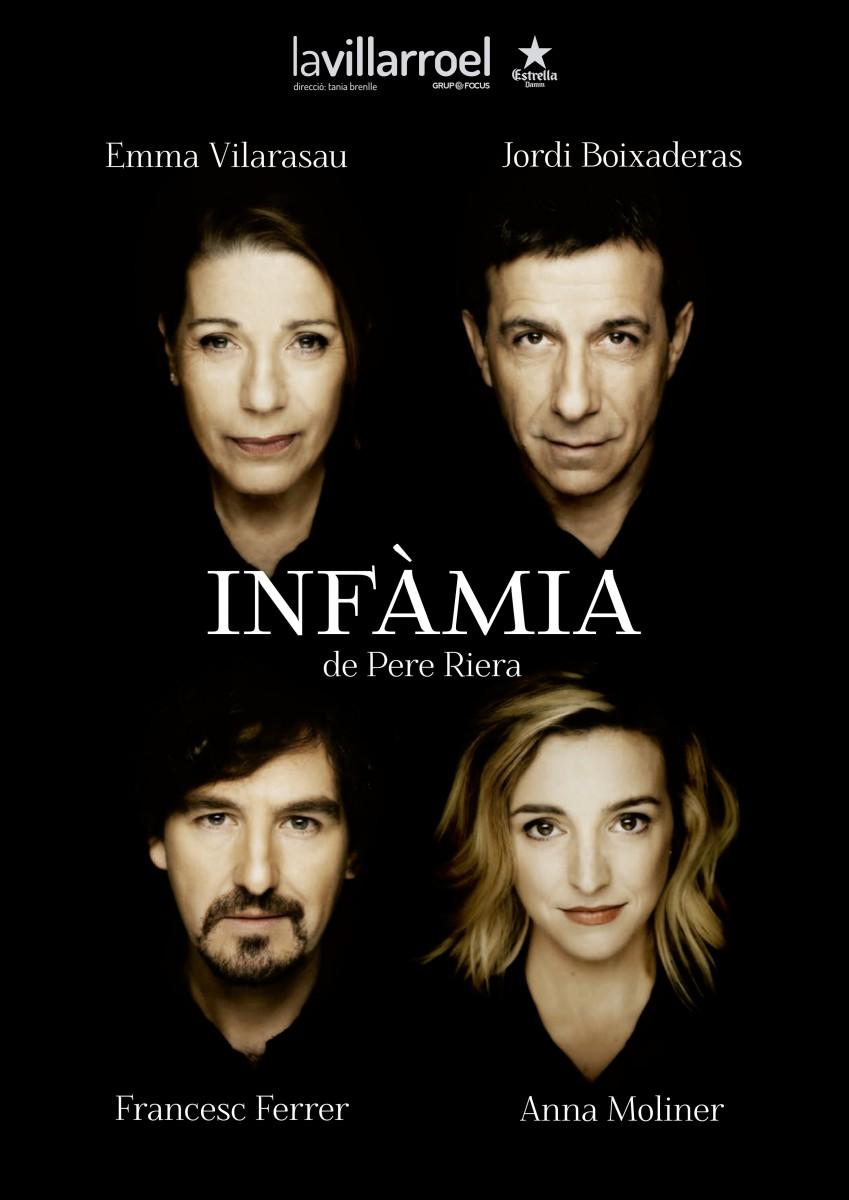 Teatre, Infàmia, LaVillarroel, Barcelona, Francesc Ferrer, Agenda cultural