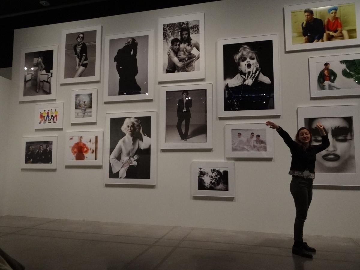 Visita a l'eposició Un segle de fotografia de moda