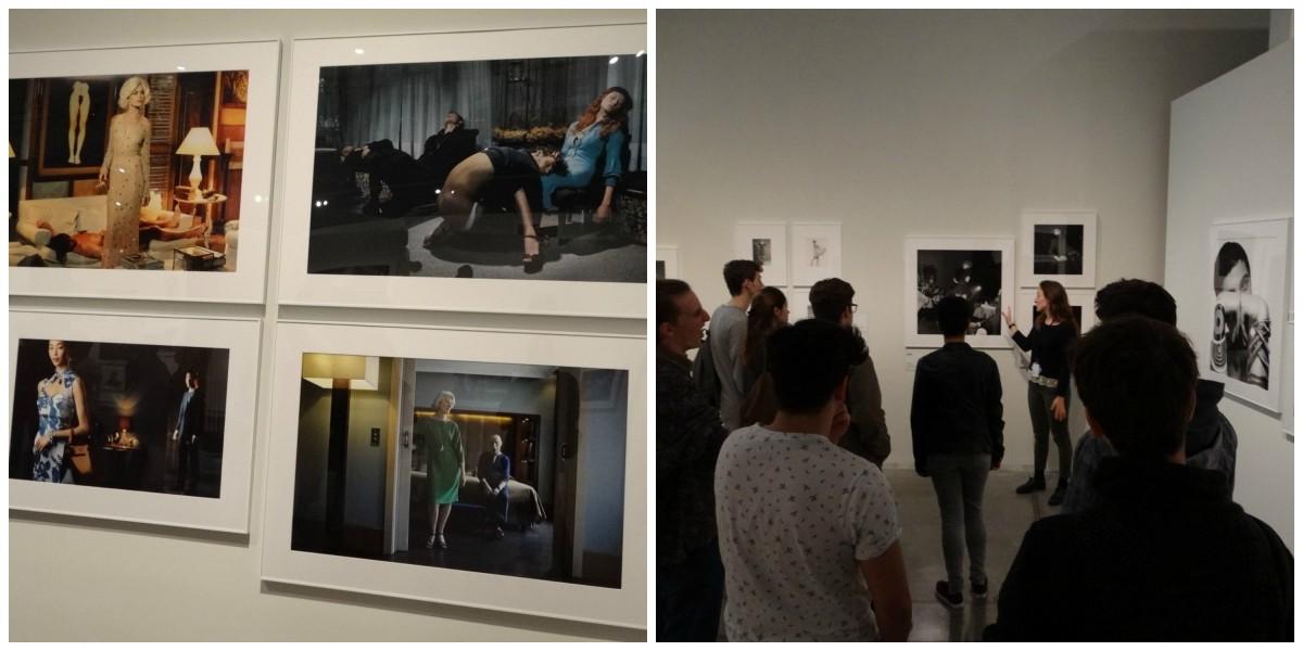 Visita a l'exposició Un segle de fotografia de moda