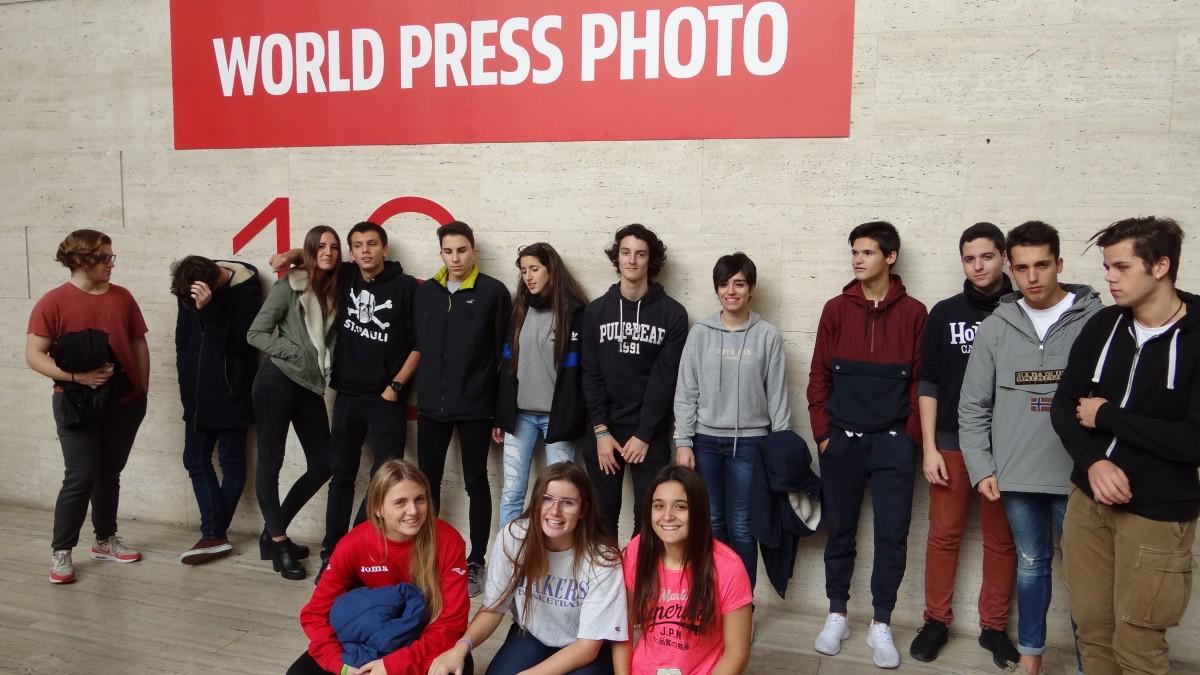 Visita a l'exposició WPP