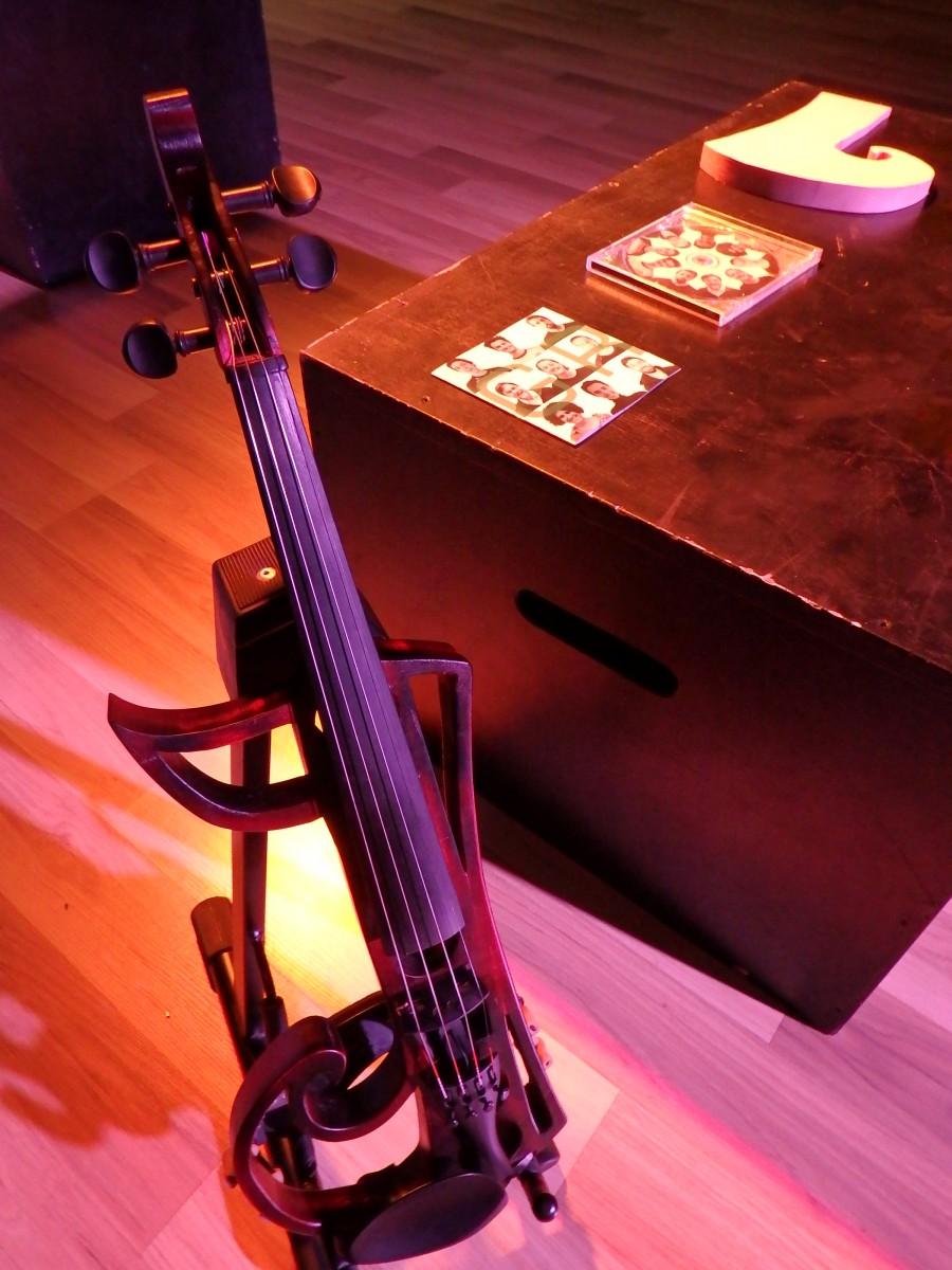 TR Joana Gumí: construcció d'un violí elèctric