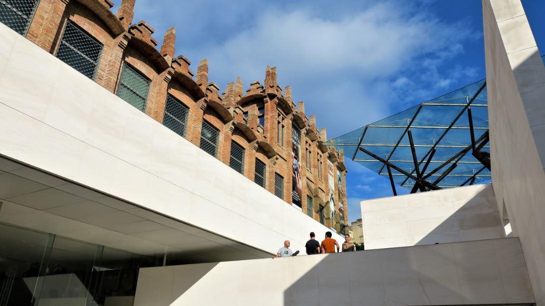 Visita fotogràfica del Pavelló Mies van der Rohe i Caixaforum