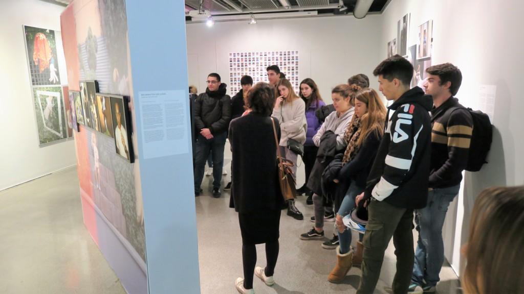 Visita exposició DOCField a Elisava
