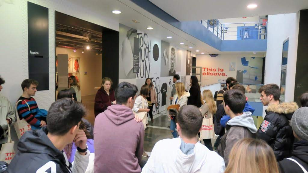 Visita exposició DOCField Elisava