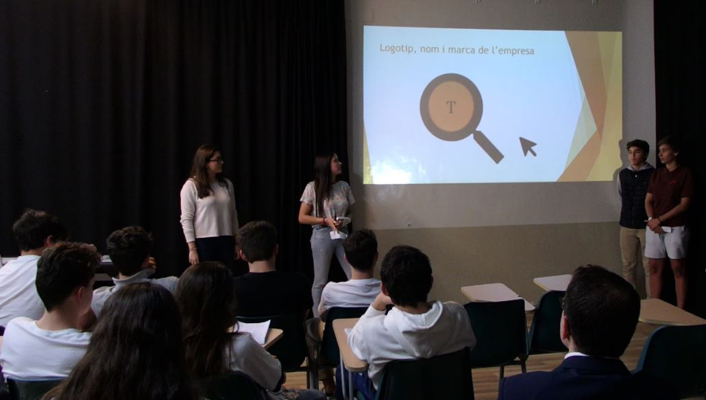Presentació projectes Crea una empresa
