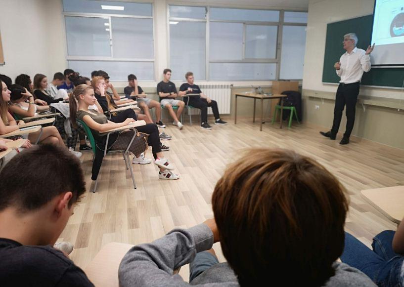 Classe magistral de Carles Gómara