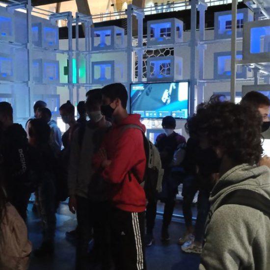 Visita a l'exposició Print3D
